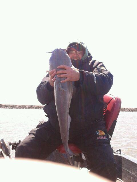 Lake and fishing information for lasalle lake la salle for Illinois ice fishing reports