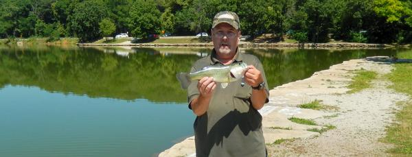 Lake and fishing information for maple lake cook county for Lake gregory fishing report