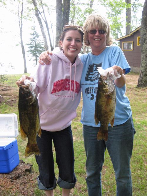 Lake and fishing information for cranberry lake vilas for Eagle river wi fishing report