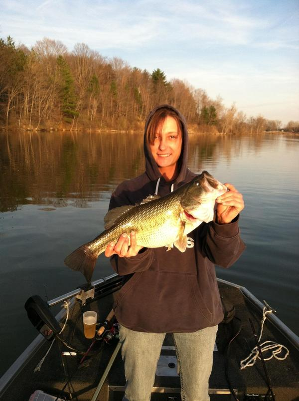 Clear fork reservoir photos morrow county ohio for Ohio out of state fishing license