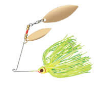 Choice of Sizes and Colors Booyah Single Colorado Spinnerbaits