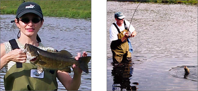 Catching Smallies...