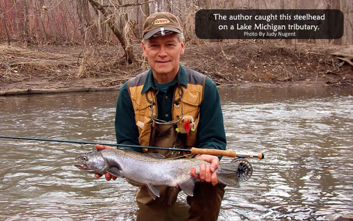 Spring steel on lake michigan tributaries part i tackle for Best fishing in michigan