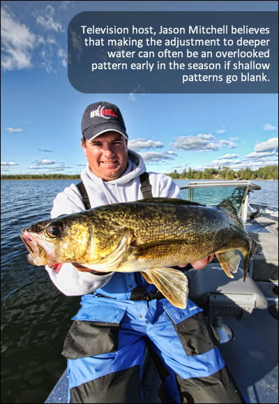 The Deep Adjustment for Walleyes