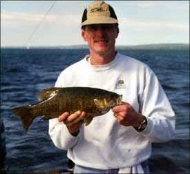 Wisconsin smallmouth hotspots for Lake mendota fishing report