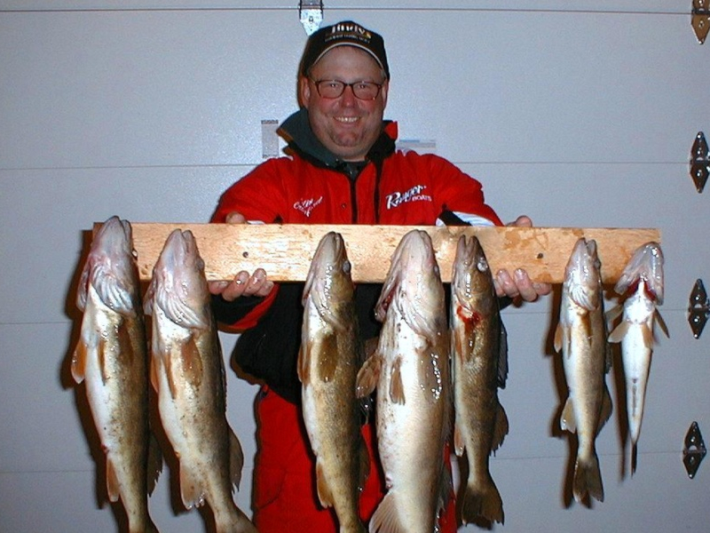 Colin Crawford's Fishing Guide Service - Phelps Outdoors - Phelps, WI