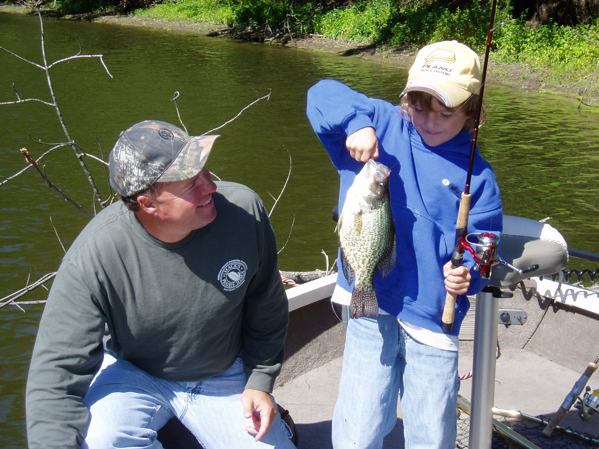 Mississippi river pool 9 fishing guides allamakee county for Mississippi river fish
