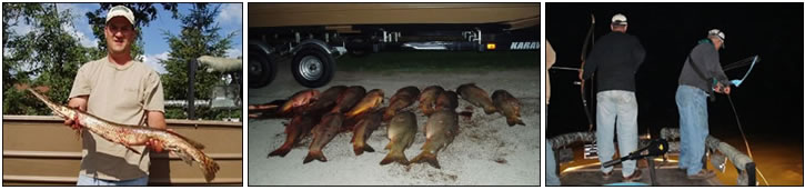 Gar-Git-R Night Bowfishing Charters