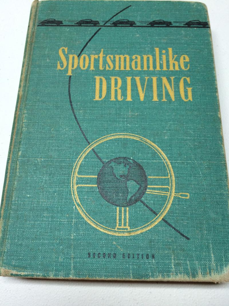 Vintage 1948 AAA Driving Book