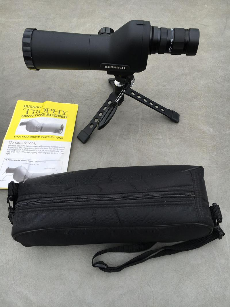 Bushnell Trophy 20-50x50 Spotting Scope