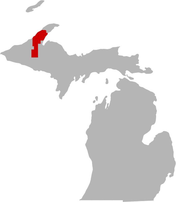 Portage Lake Michigan Map.Portage Lake
