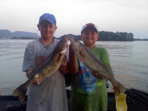 Lake Pepin Walleye Fishing Pool 4 Fishing Reports And