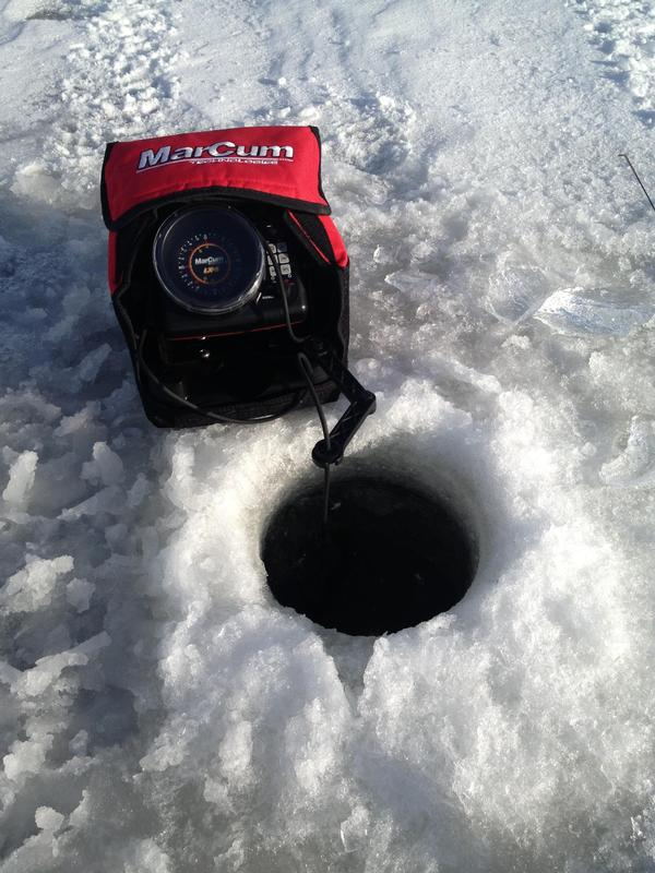 Marcum vs vexilar for Marcum ice fishing