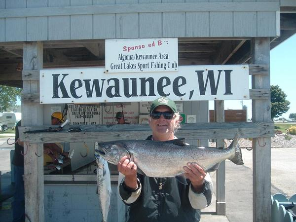 Thanks to everyone who gave me the opportunity to fish for Kewaunee fishing report