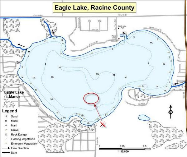 eagle lake racine county fishing reports and discussions