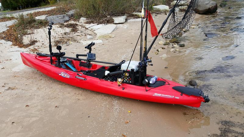 Kayak Setup Advice