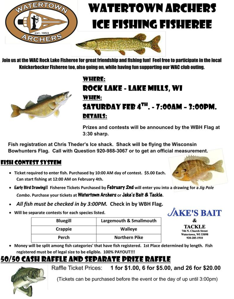 Rock lake jefferson county fishing reports and discussions for Watertown fishing report