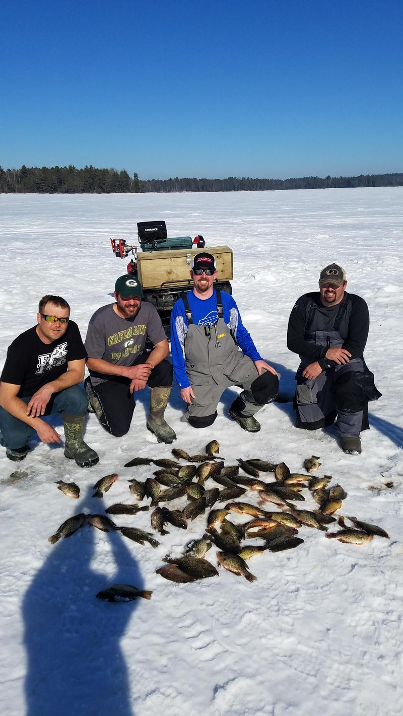 Chippewa flowage sawyer county fishing reports and for Lake link fishing report