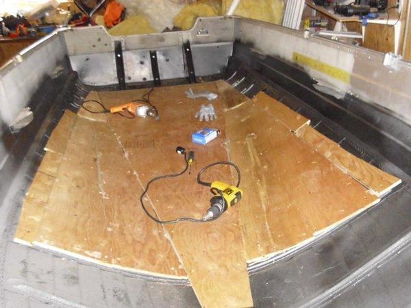 Boat floor replacement for Replacing boat floor