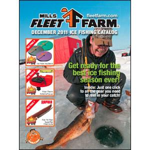 Mills fleet farm 2011 ice fishing catalog for Fleet farm ice fishing