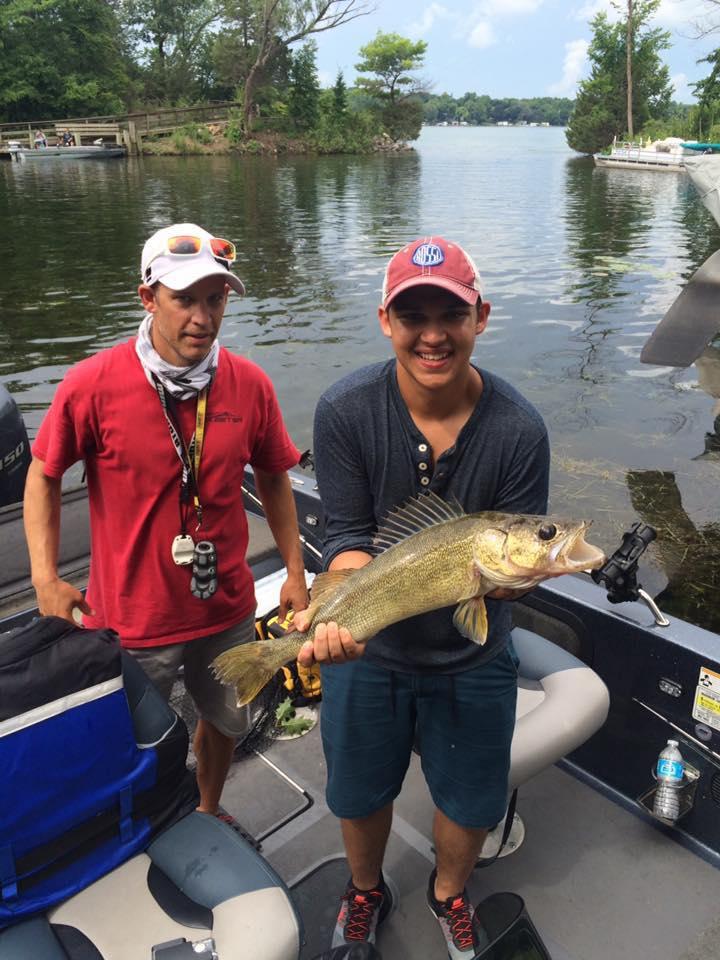 Nagawicka lake waukesha county fishing reports and for Fishing report wisconsin