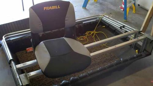 Frabill deluxe seats for Ice fishing seat