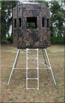 Do you prefer blind hunting over tree stands for Enclosed tree stand designs