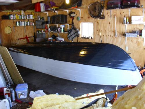 Painting Aluminum Boat