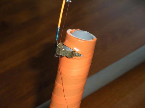 Home made slammer automatic tip up