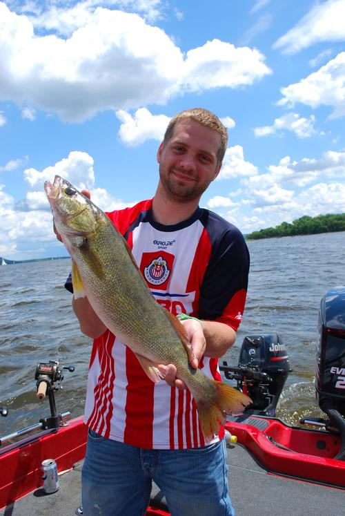 Lake pepin walleye fishing report fishing reports and for Lake pepin fishing report
