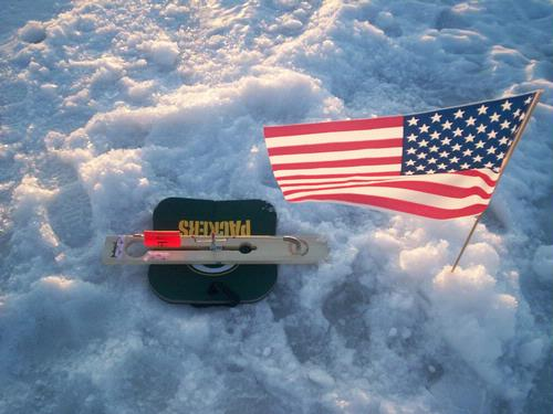 Inventions home mades tips tricks for Ice fishing hole covers