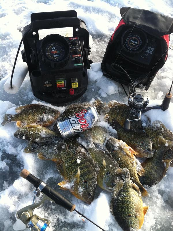 Marcum or vexilar what is better for Marcum ice fishing