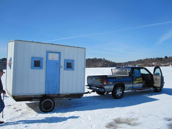 Trasporting Permanent Ice Shacks