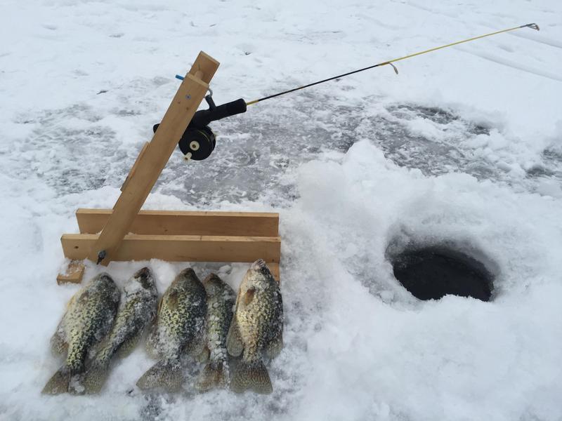 Homemade Ice Fishing Stuff