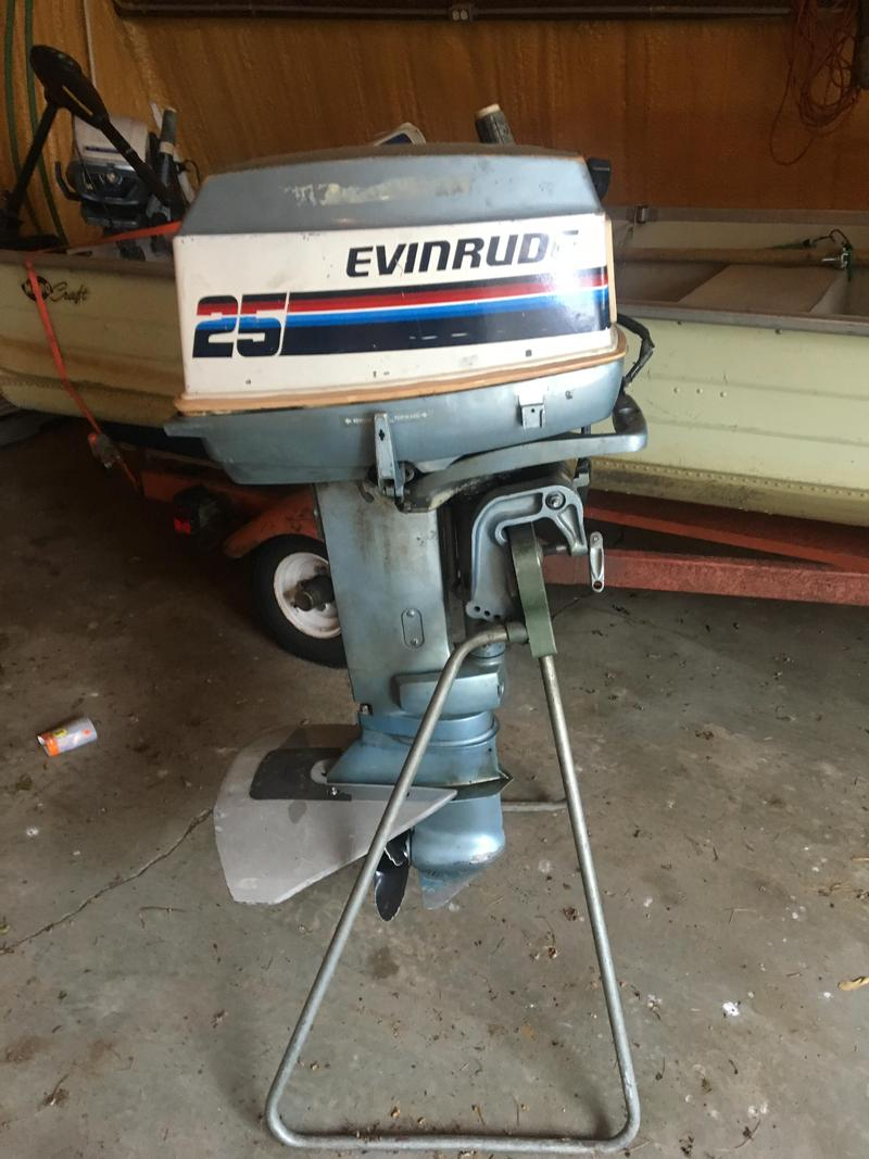 25 Hp Evinrude Electric Start