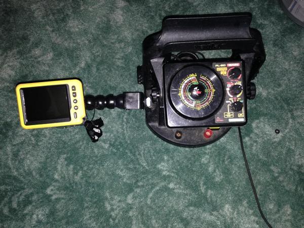 Vexilar flasher tricks upgrades for Ice fishing flasher