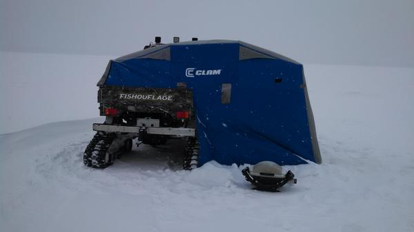 Ok Lets See Your Ice Fishing Suv Truck Shanty