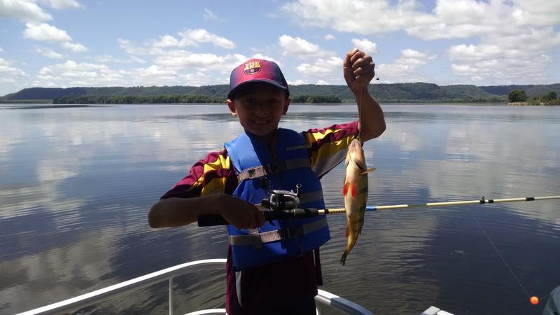 Kids and mentors outdoors kamo for Lake onalaska fishing report