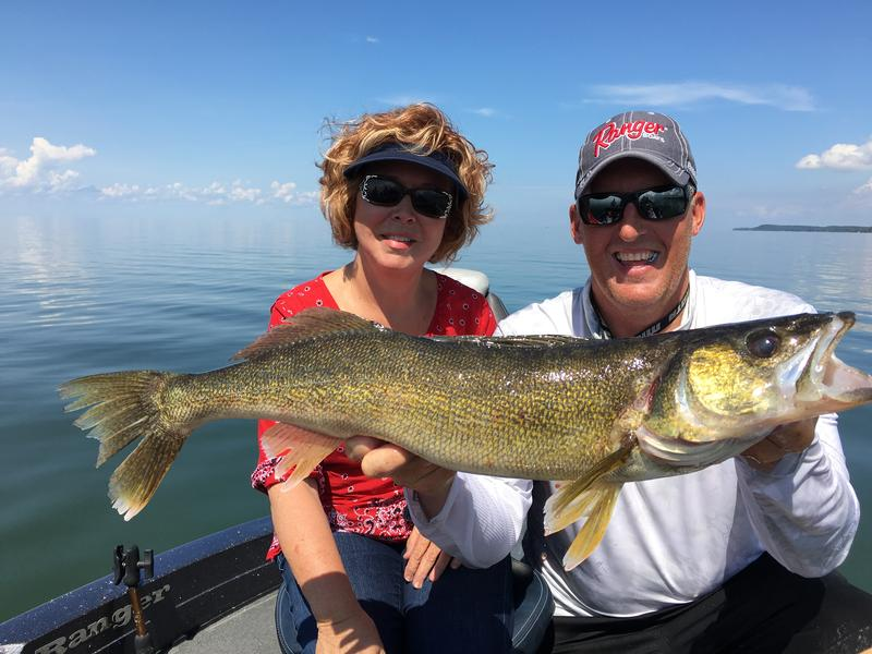 Sturgeon bay door county fishing reports and discussions for Ice fishing report