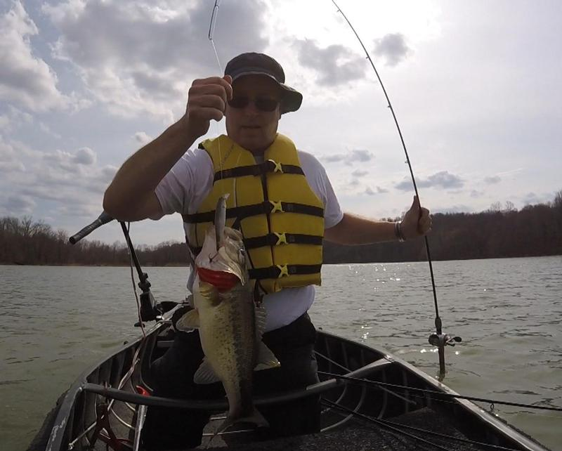 Small early season ice out report fishing reports and for Ohio fishing season