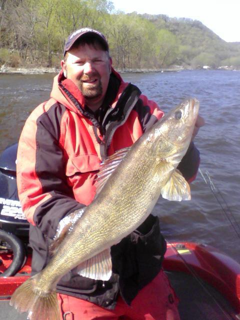Mississippi river lake pepin walleye fishing report for Ms fishing report