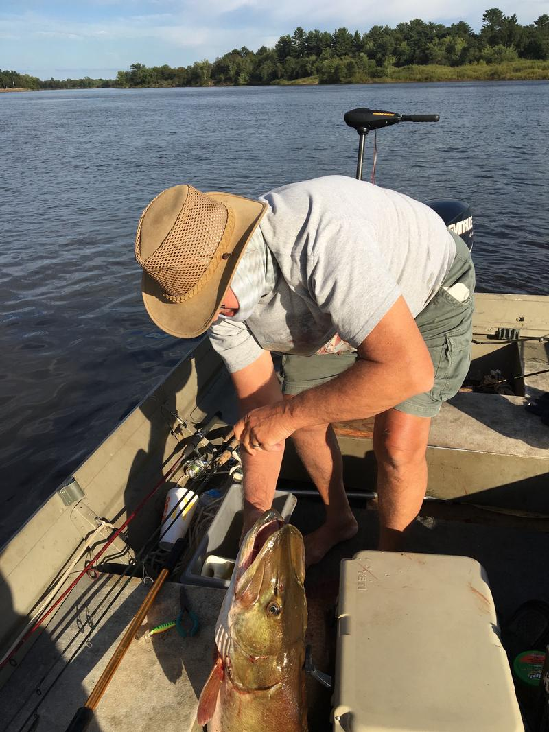 wisconsin river fishing report