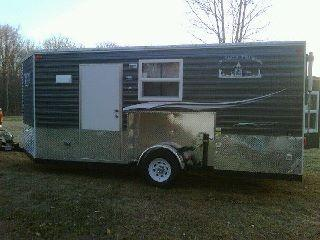 Fishing Shacks On Wheels
