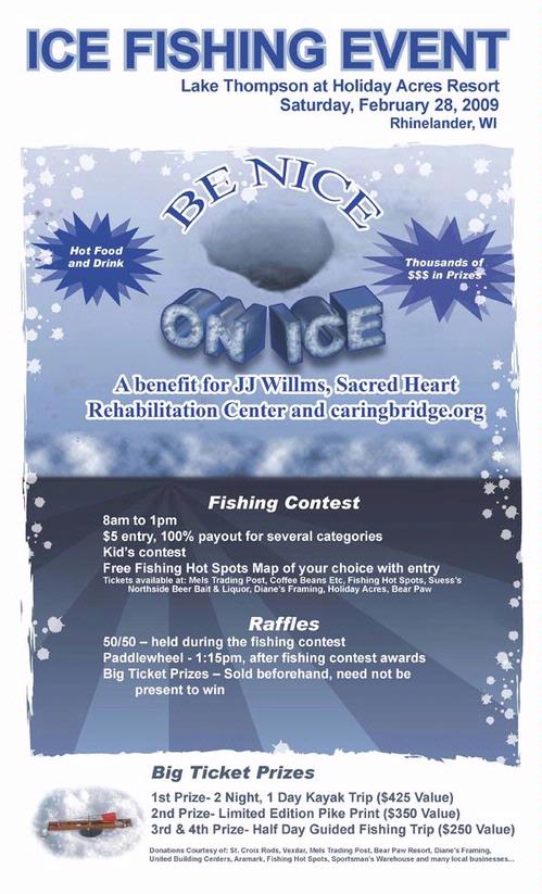 Ice fishing tournaments jamborees fishing reports and for Ice fishing reports