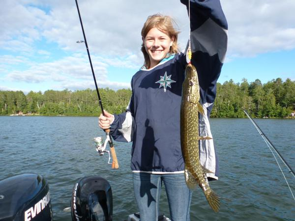 Eagle river chain fishing reports and discussions for Eagle river fishing report