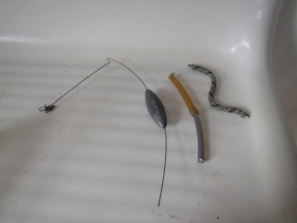 Lindy no snagg sinkers how are they meant to be used for Bottom bouncer fishing