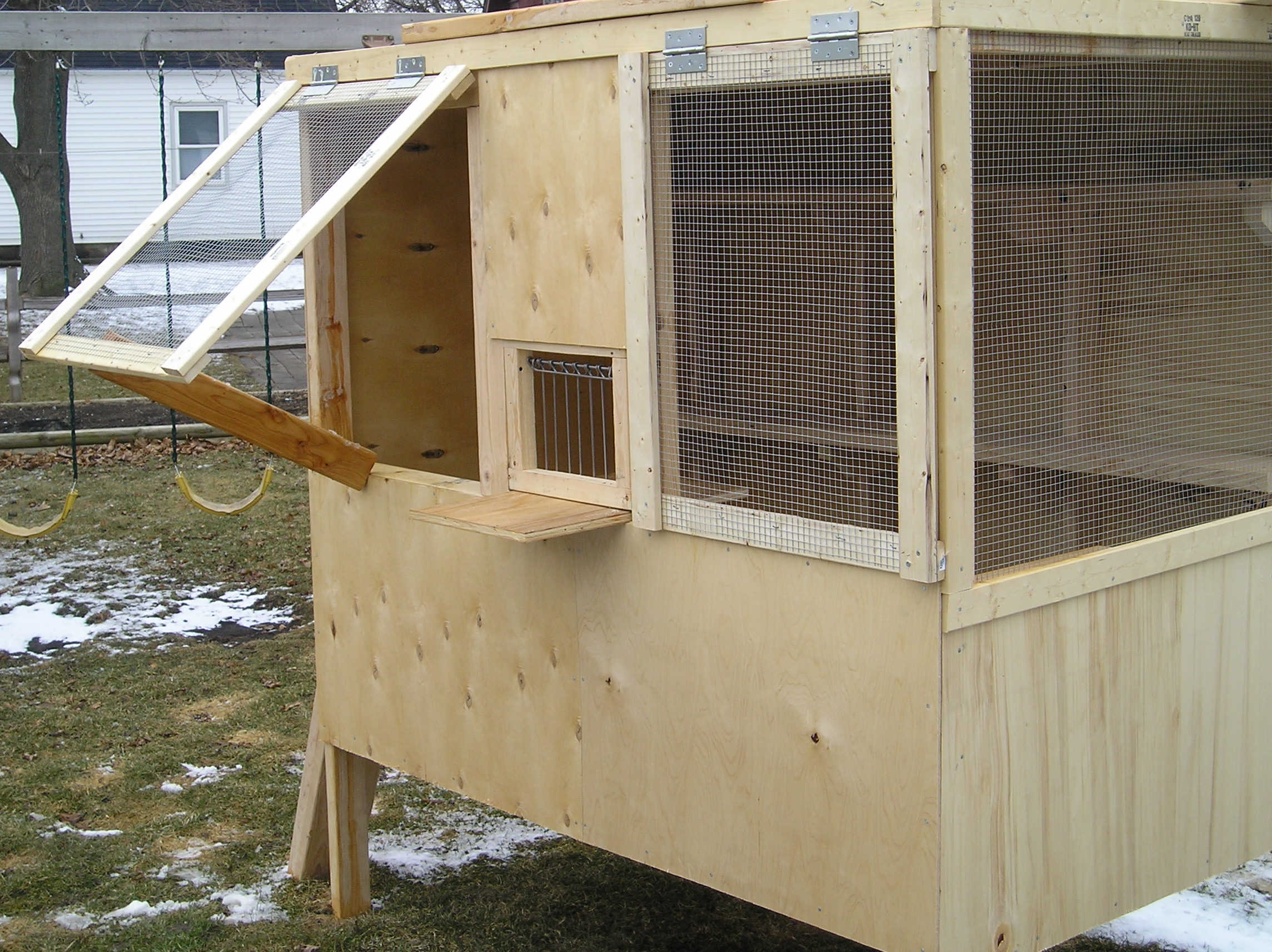 how to make a pigeon house at home