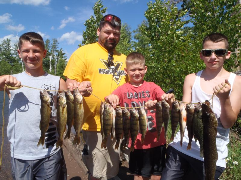 2016 07 08 fishing report turtle flambeau flowage for Wisconsin fishing guides