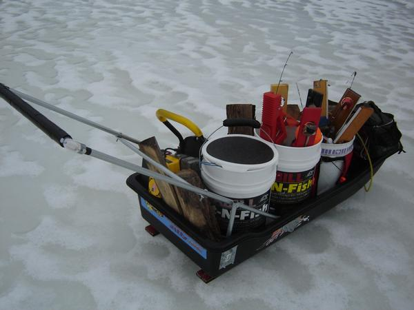 Home Made Fishing Sleds