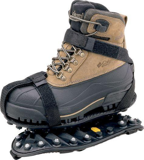 Ice cleats for Ice fishing boots